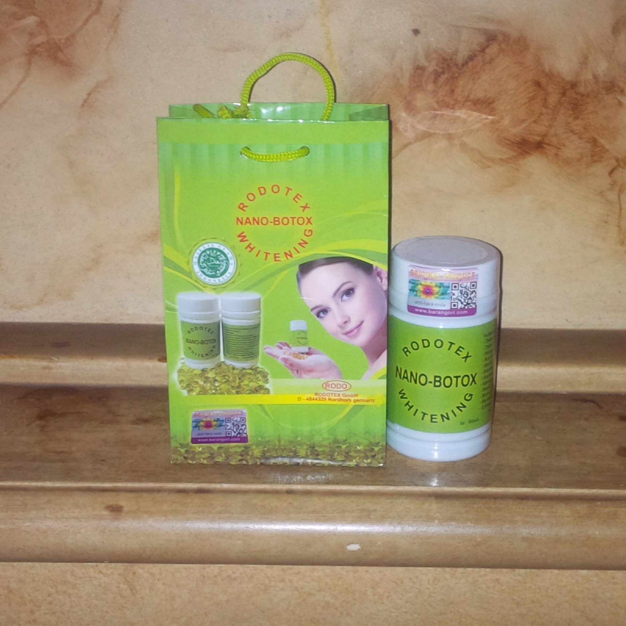 RODOTEX NANO BOTOX WHITENING SOFTGEL